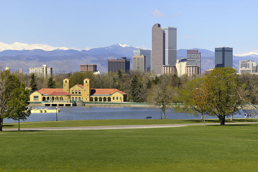 Denver area Washington Park
